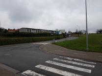 Verkeerssituatie aan De Klimming (Essene)